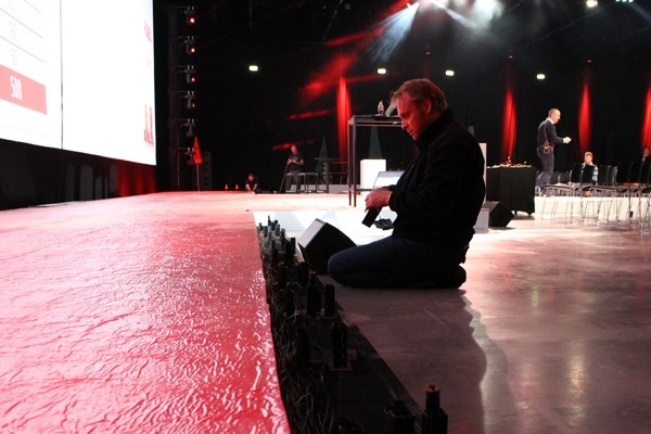 Le Maitre Pyro Used For Coca Cola Kick-Off Meeting in Oslo