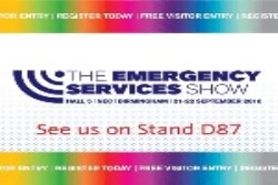 Le Maitre exhibiting at The Emergency Services Show