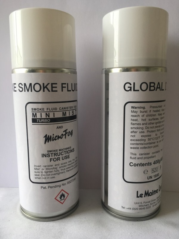 Smoke Fluid Canisters For The Emergency Services