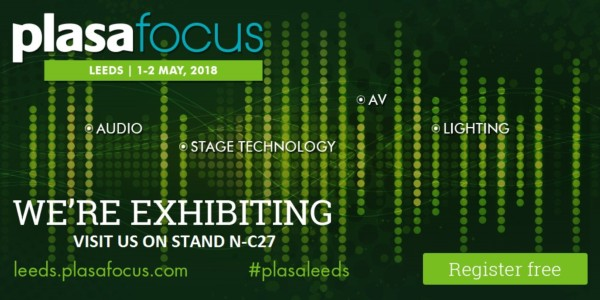Le Maitre Exhibiting at PLASA Focus Leeds, 1-2 May 2018