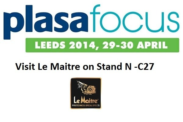 Le Maitre To Exhibit At Plasa Focus Leeds - April 29-30, Stand N-C27
