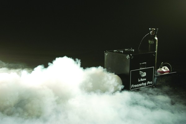 Create a Long Lasting Low Lying Fog with Le Maitre's Freezefog Pro