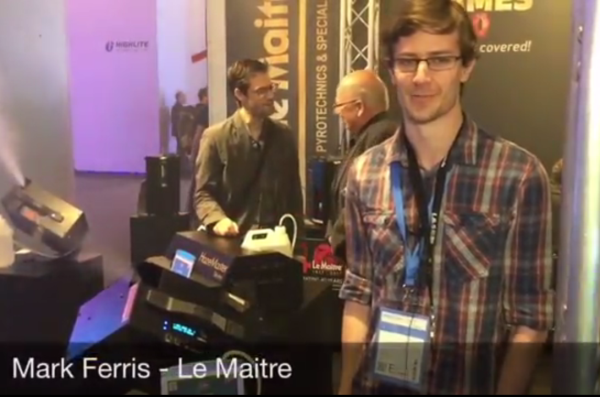 Mark Ferris details the features of Le Maitre's new MVS Smart hazer