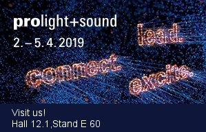 Le Maitre exhibiting at Prolight + Sound 2019