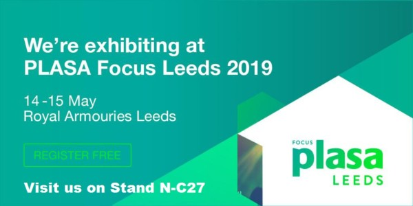 Le Maitre exhibiting at PLASA Focus Leeds on 14th-15th May