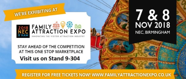 Le Maitre exhibiting at Family Attraction Expo