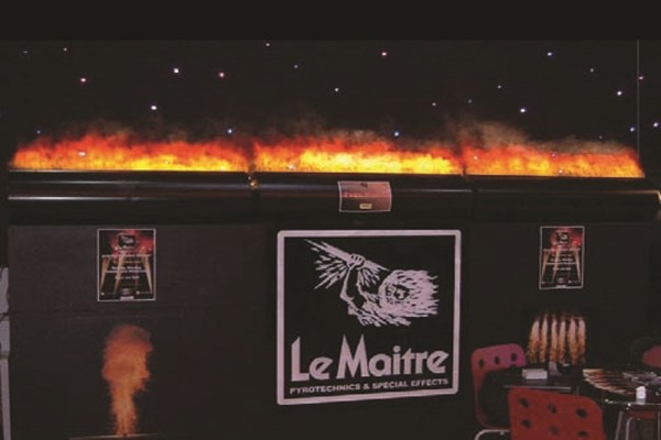 Fake Flames on show at G2E Asia 2017