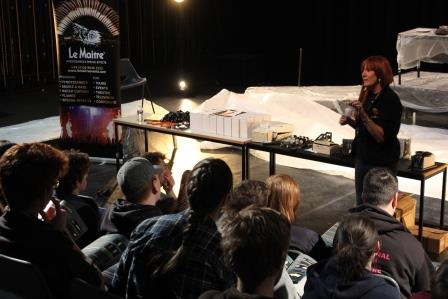Le Maitre hosting Introduction to Pyrotechnics Workshop at National Student Drama Festival