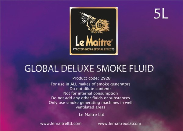 NEW Smoke Fluid - Global Deluxe