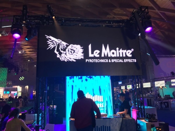 Le Maitre products at Music Inside Rimini exhibition with Audio Effetti
