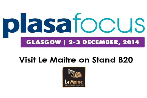 Le Maitre Exhibiting at Plasa Focus Glasgow, December 2nd & 3rd