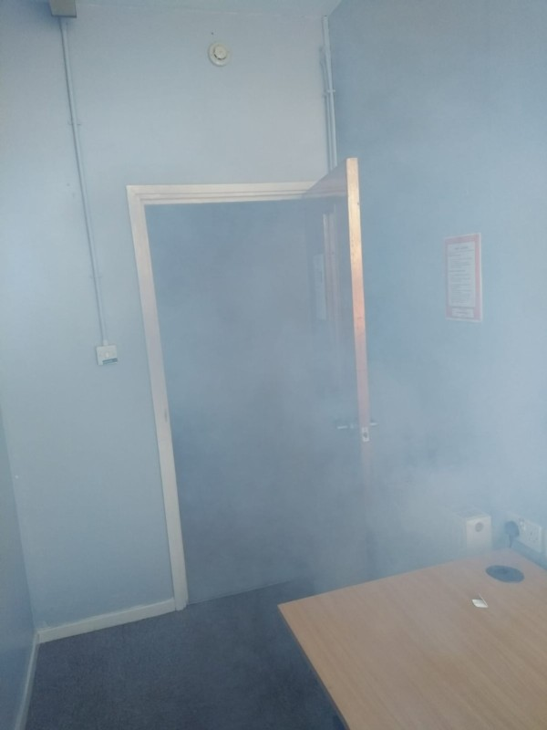 GForce Smoke Generators used in multi-agency fire simulation exercise